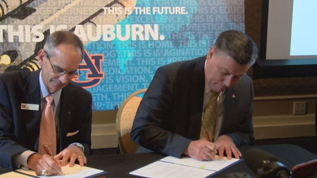 Au And Nasa Sign Space Act Agreement Wrbl