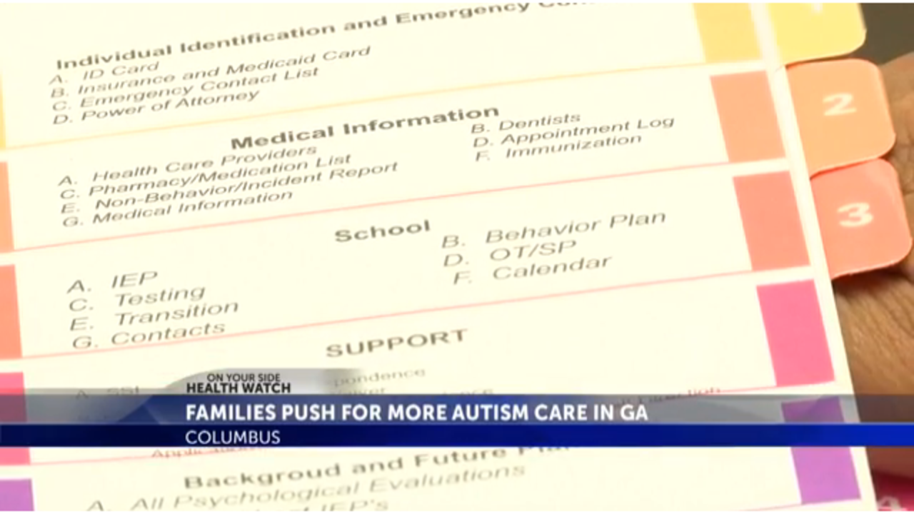 Families Push For More Autism Care In Ga
