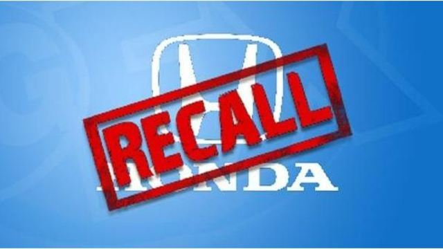Honda recalls more than 5,000 cars due to potential injury risk