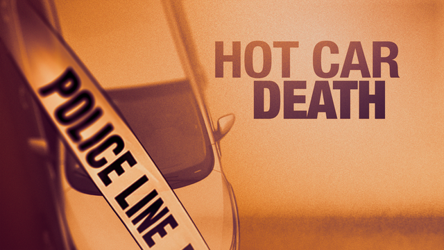 Toddler dies after being left in hot car on college campus