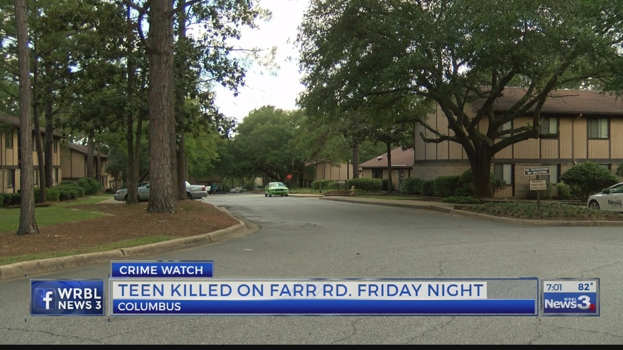 Columbus Teenager Shot And Killed In Car Outside Farr Road Apartments