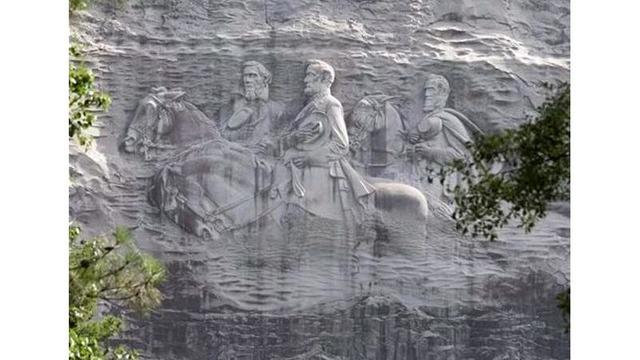 Georgia governor candidate wants Confederate Stone Mountain carving gone