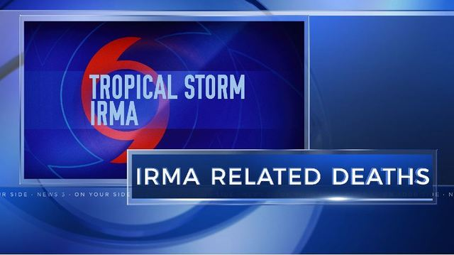 Tropical Storm Irma claims 3rd life in Georgia