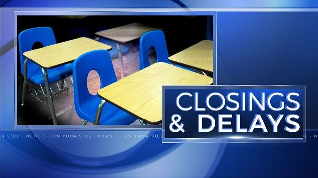 Numerous school districts cancel school for Wednesday