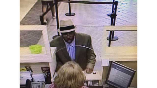 FBI release photo of person of interest from CB&T Bank robbery