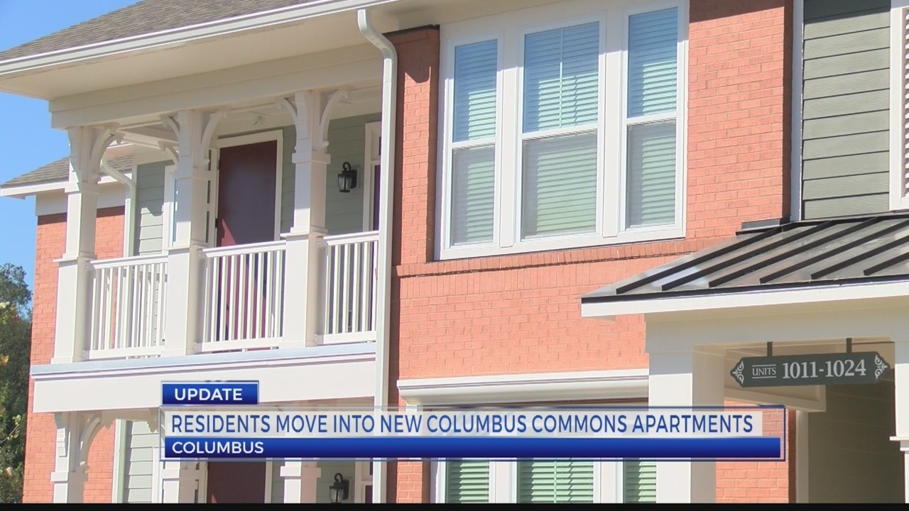 Residents Move Into New Columbus Commons Apartments