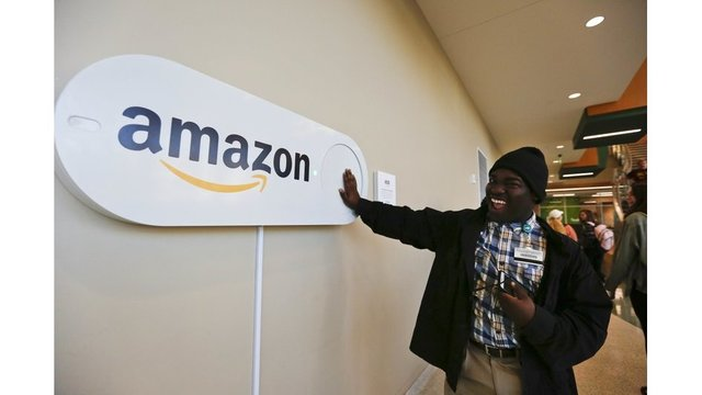 Cities wooing Amazon for second headquarters with sun, fun ... and giant buttons