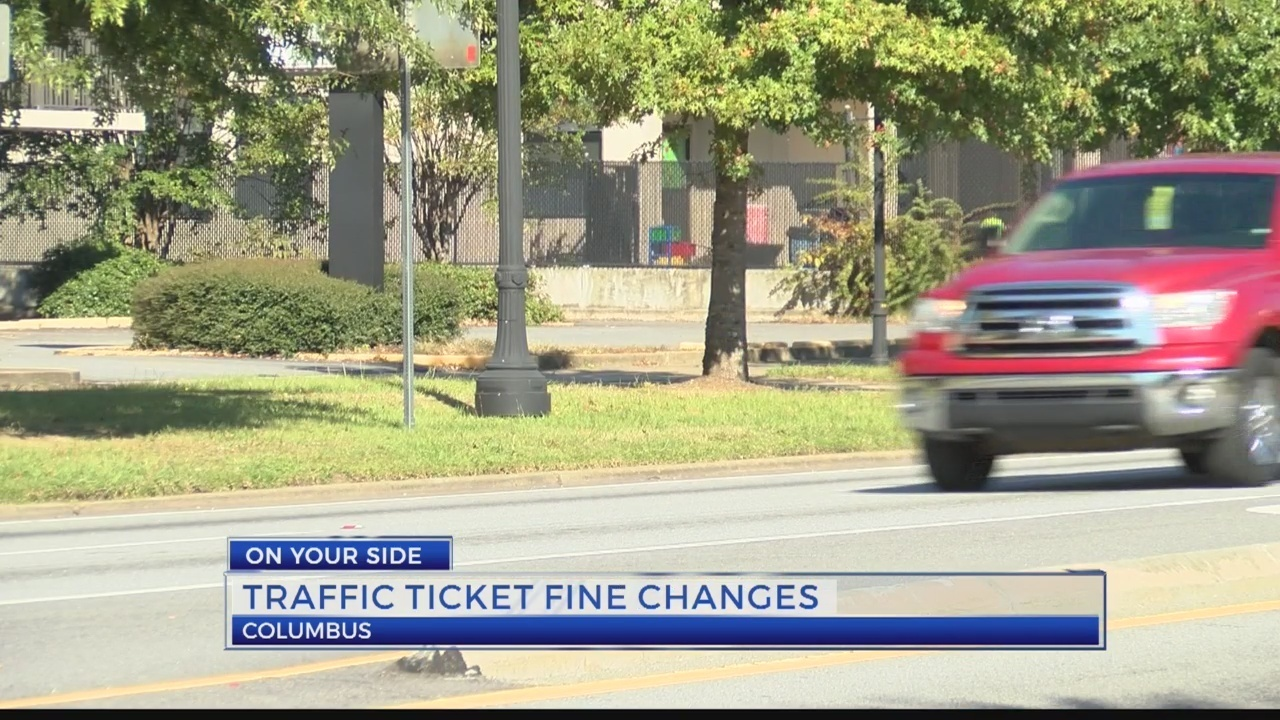 Traffic citation prices change in Muscogee County
