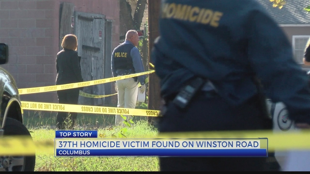 Winston Road Murder Pushes Columbus Homicide Total To 37