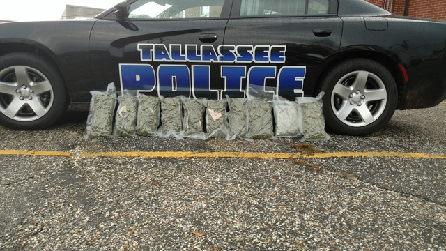 12 pounds of marijuana seized in Tallassee, leads to 4 arrests
