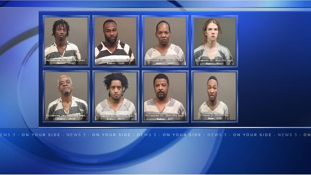 8 arrested in series of Tallapoosa County drug busts