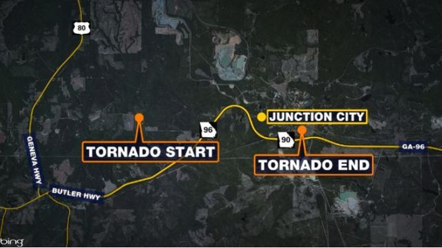 NWS confirms EF0 occurred near Junction City Wednesday