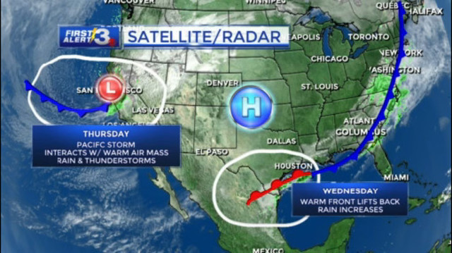 A terrific Tuesday sandwiched between our next storm