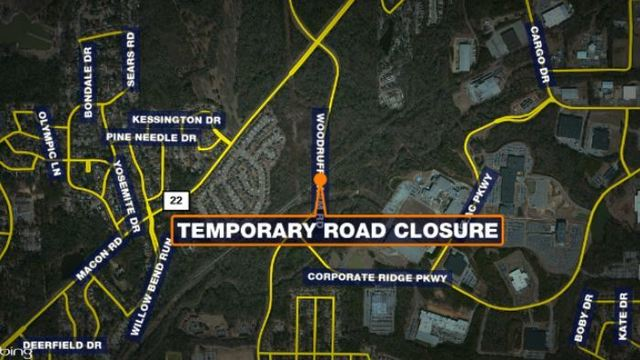 Woodruff Farm Road railroad crossing to be temporarily closed