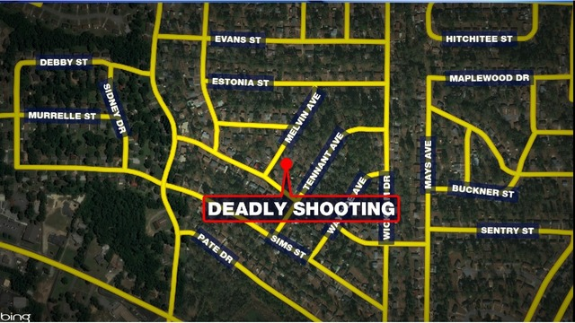 Deadly shooting on Melvin Avenue