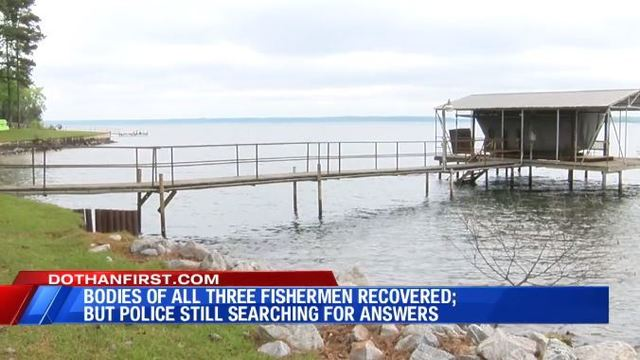 Body of third fisherman recovered from Lake Eufaula after five days of searching