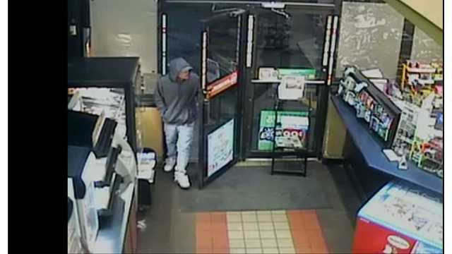 Columbus Police looking for suspect in convenience store robbery