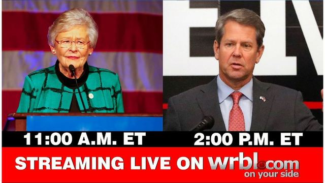 WRBL News 3 brings you live coverage of state inaugurations today on WRBL.com
