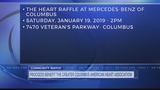 Time and tickets are running out for the 2019 Heart Raffle at Mercedes-Benz of Columbus