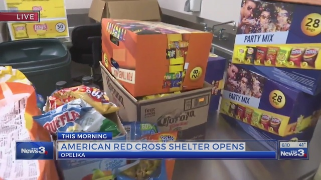 Drop off locations for donations in Lee County