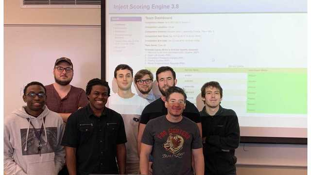 CSU Cybersecurity Team Takes 2nd Place at Competition