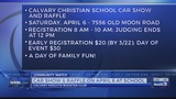 Crusin' for Calvary 2019 offers a way to support the school and possibly win a 2019 Nissan Altima!