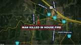 Man killed following house fire in Lee County